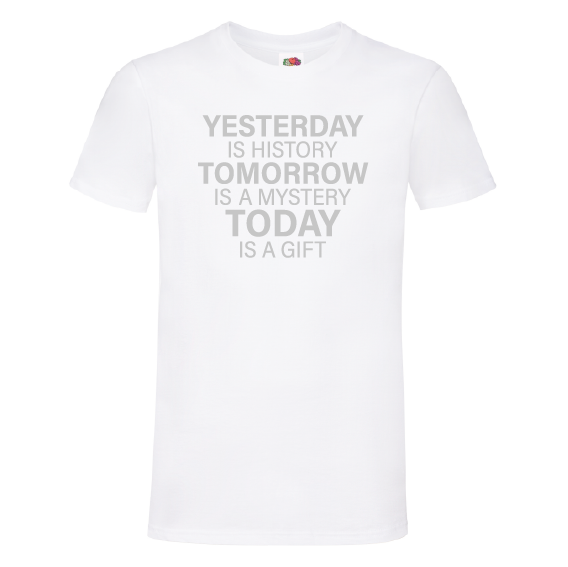 Troost t-shirt | Today is a gift