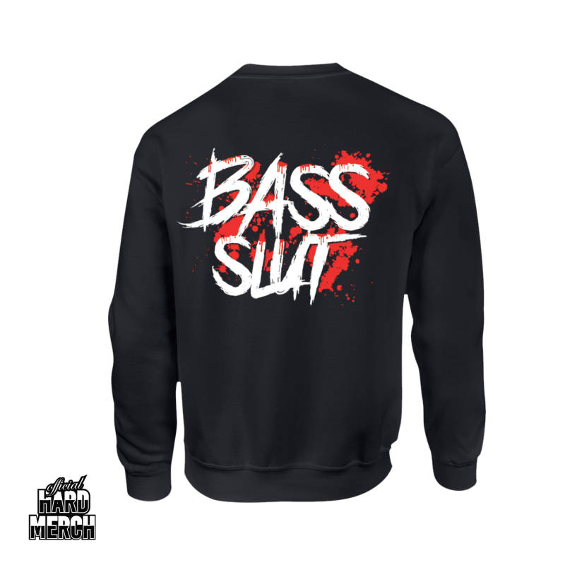 Cryogenic Bass Slut Sweater Red