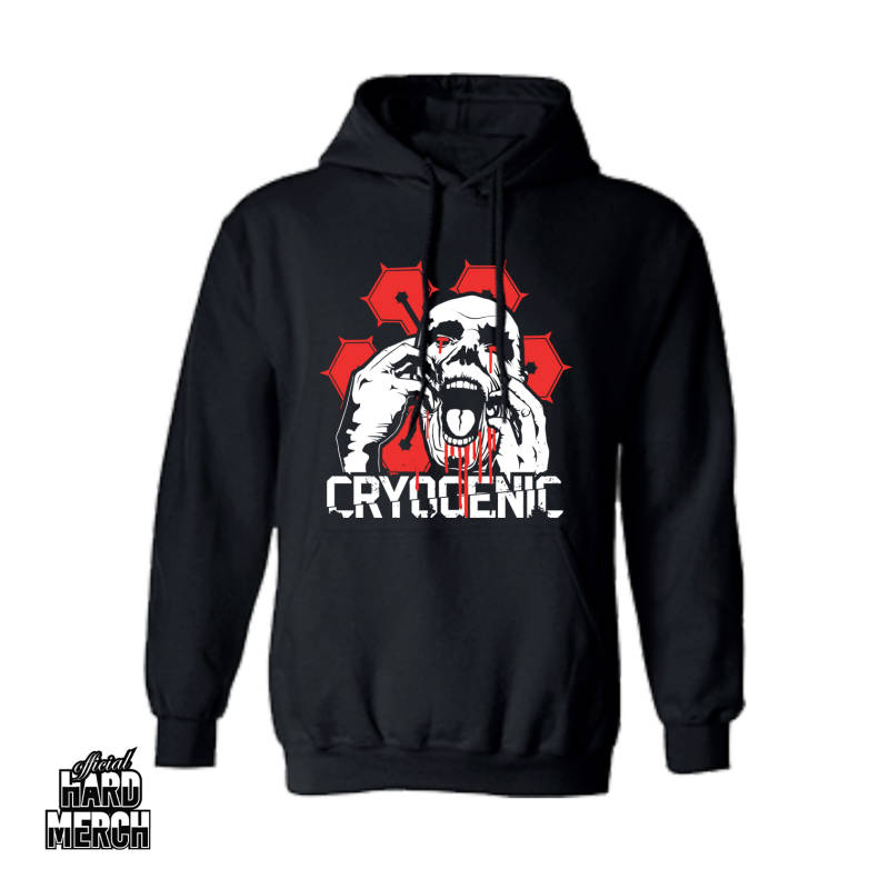 Cryogenic Basic Hoodie red