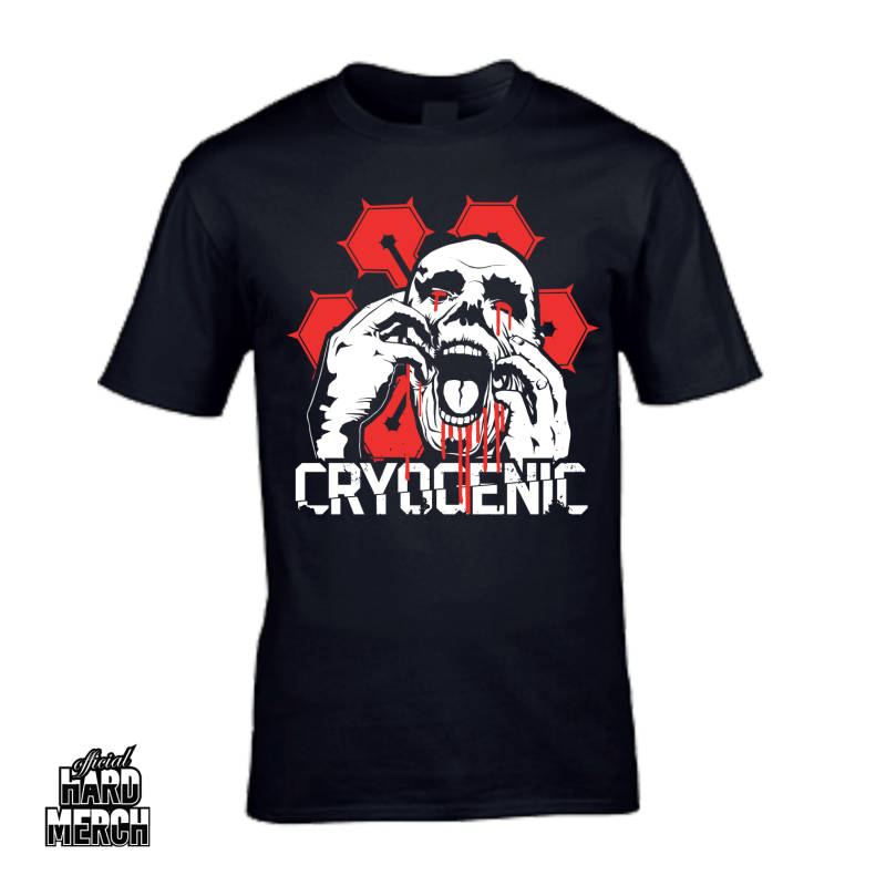 Cryogenic basic T-shirt red