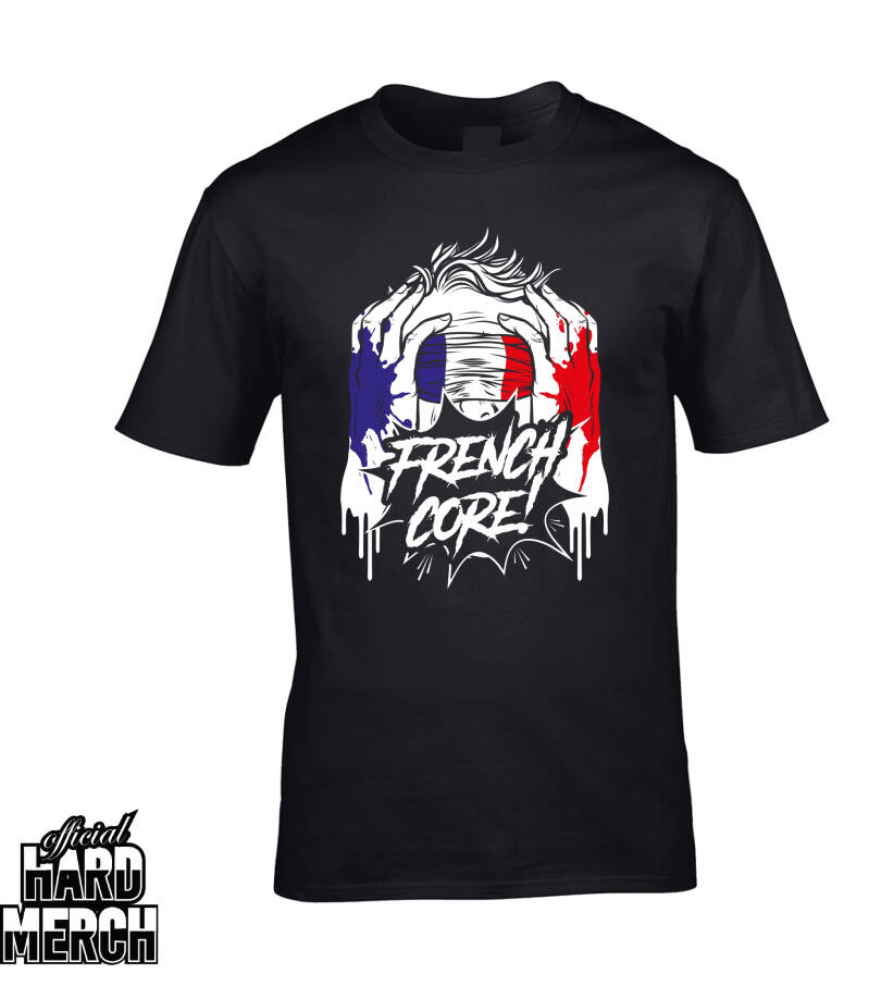 Screaming Frenchcore t-shirt