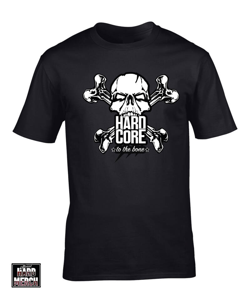 Hardcore to the bone t-shirt | OHM original