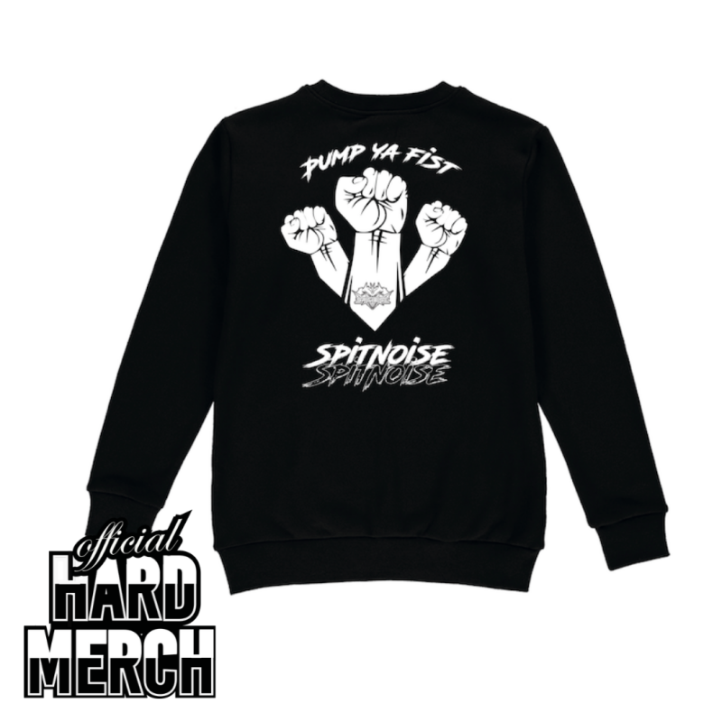 Spitnoise PUMP YA FIST sweater