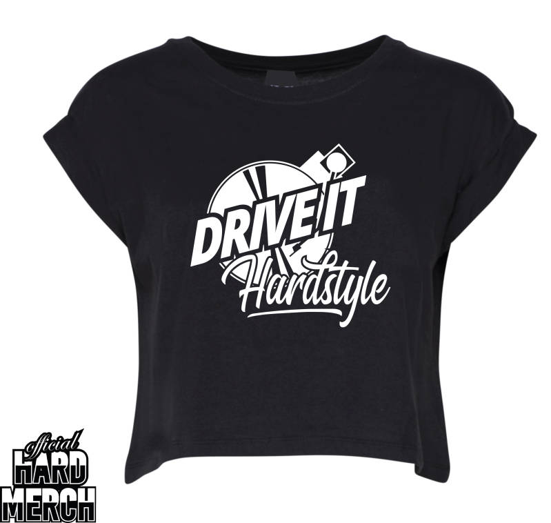 Drive it Hardstyle croptop