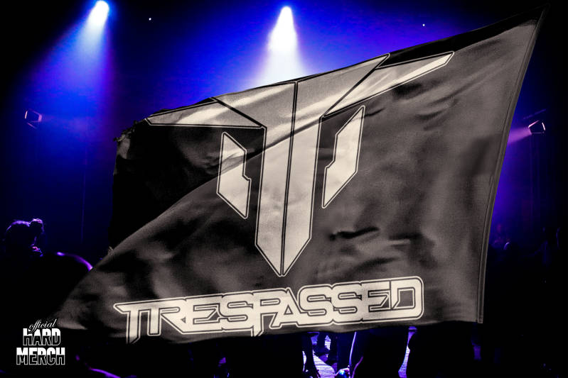 Trespassed flag