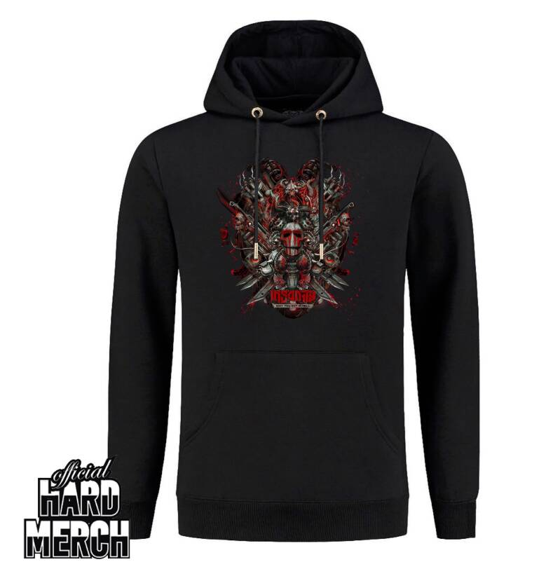 Insanity - Big logo - May you rot in hell - Hoodie