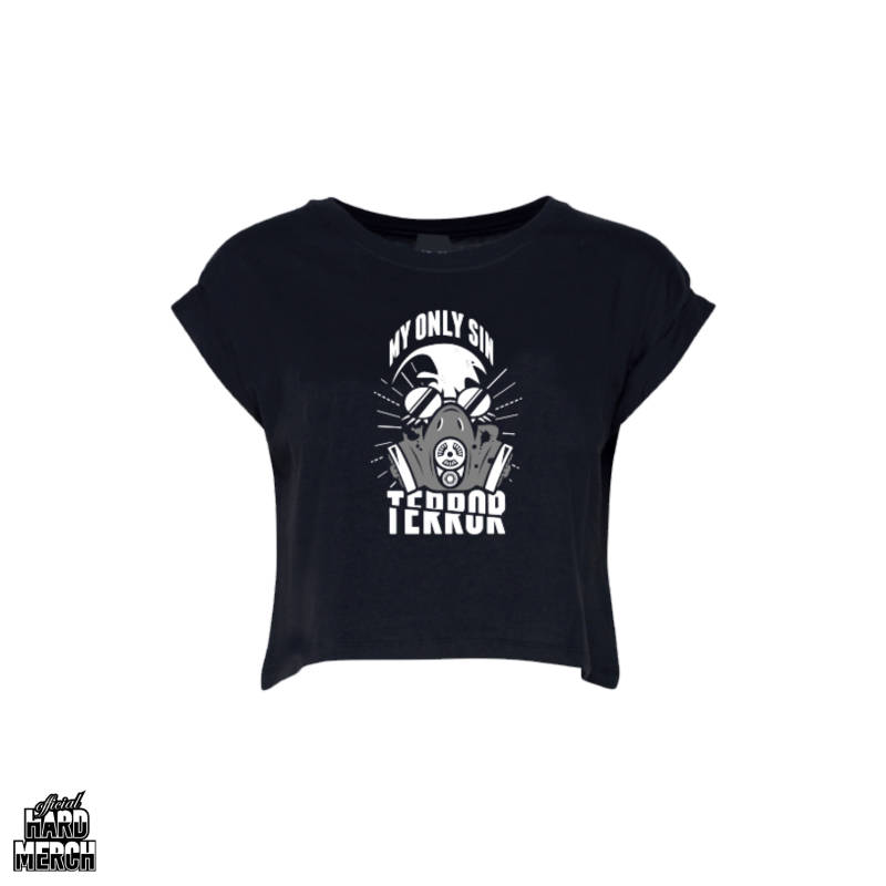 My only sin TERROR croptop