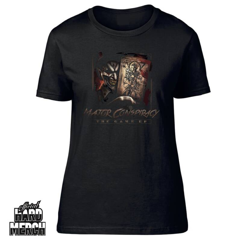 Major Conspiracy The Game Ep Ladies T-shirt