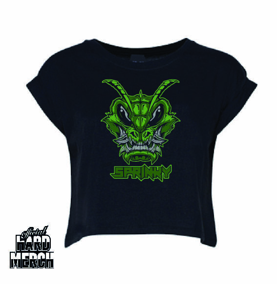 Sprinky Green Logo croptop