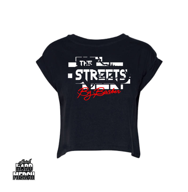 Barber in The Street Croptop