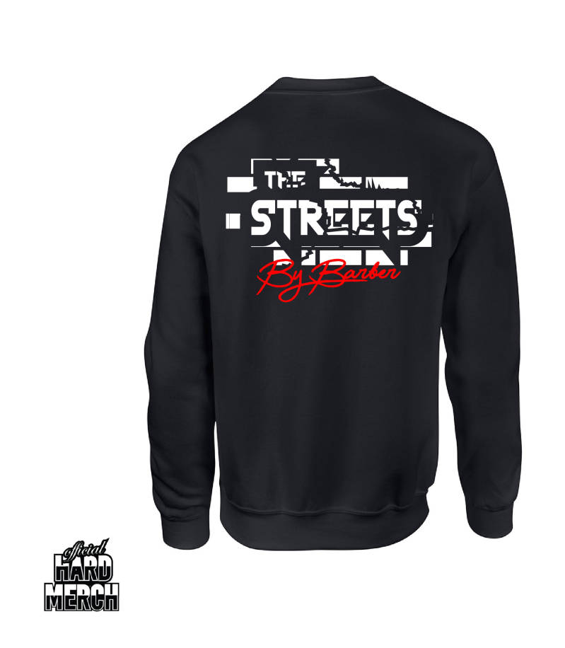 Barber in the Streets sweater