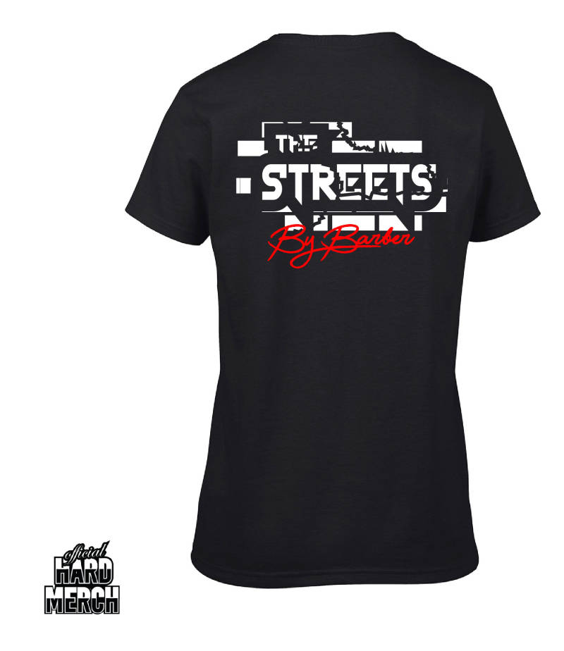 Barber in The Streets women shirt