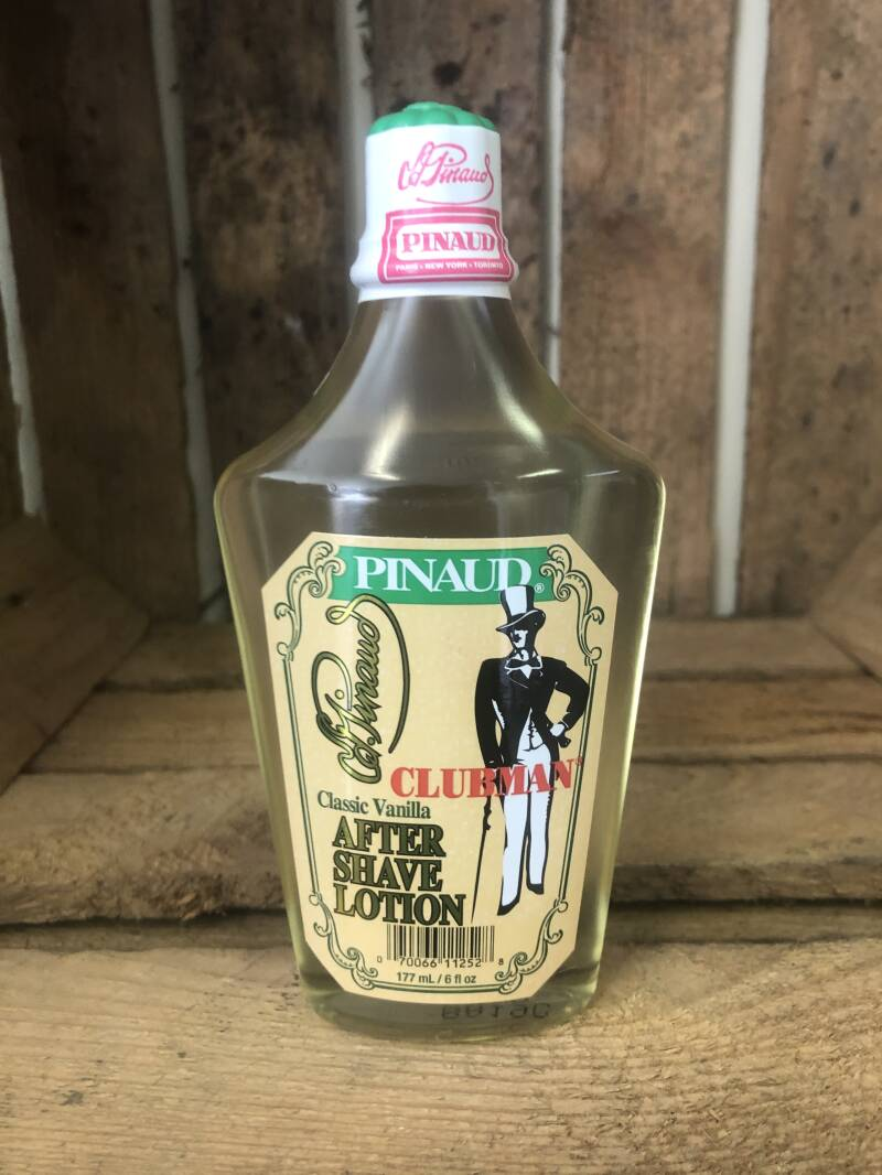Pinaud Clubman Classic Vanilla Aftershave Shave Lotion