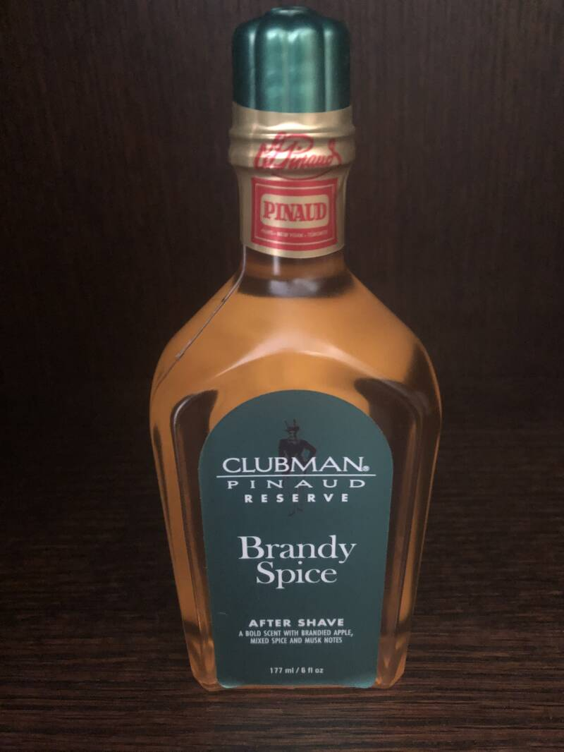 Pinaud Clubman aftershave Brandy Spice