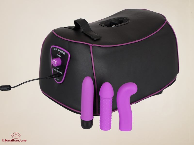 Roterende G- & P-Spot Machine (Sybian)