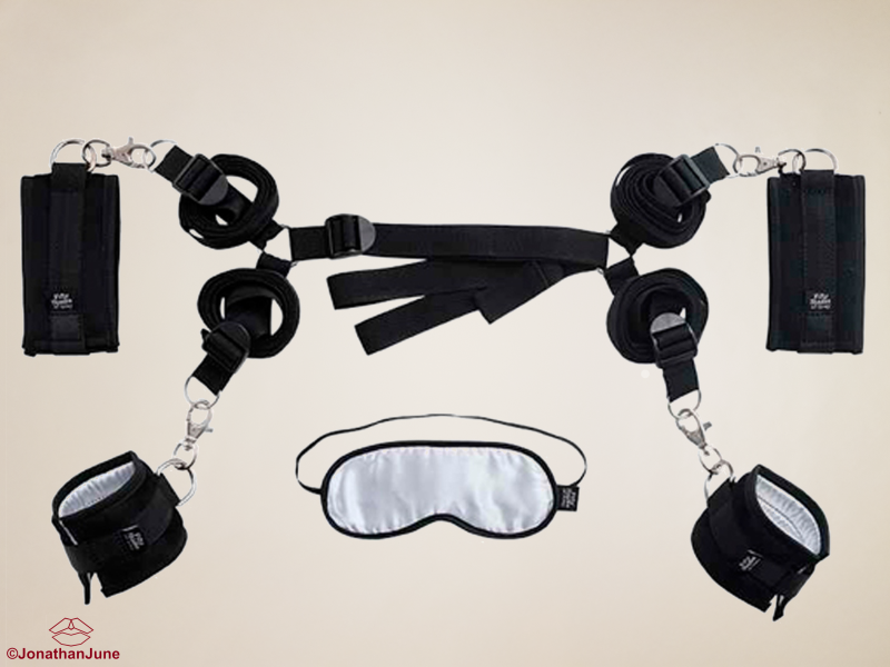 Hard Limits Bed Bondage Set - Fifty Shades of Grey