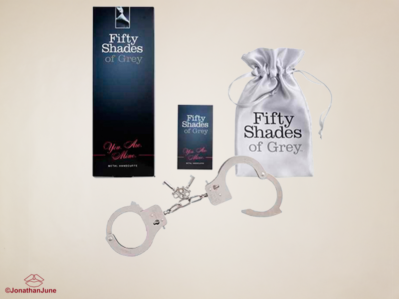 Handboeien - You Are Mine -  Fifty Shades of Grey