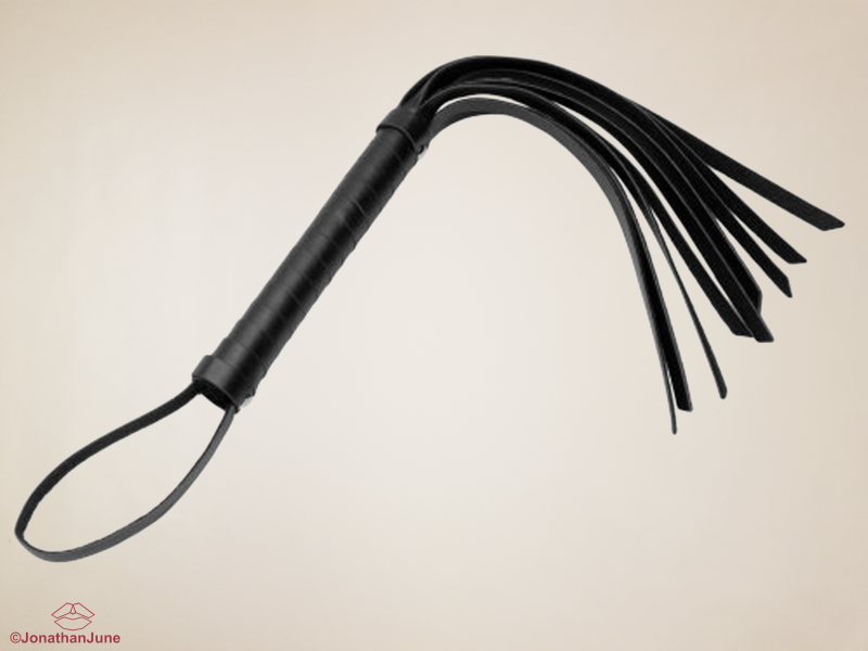 Cat Tails Vegan Leather Hand Whip