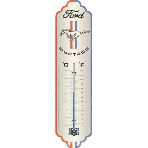 Ford Mustang thermometer