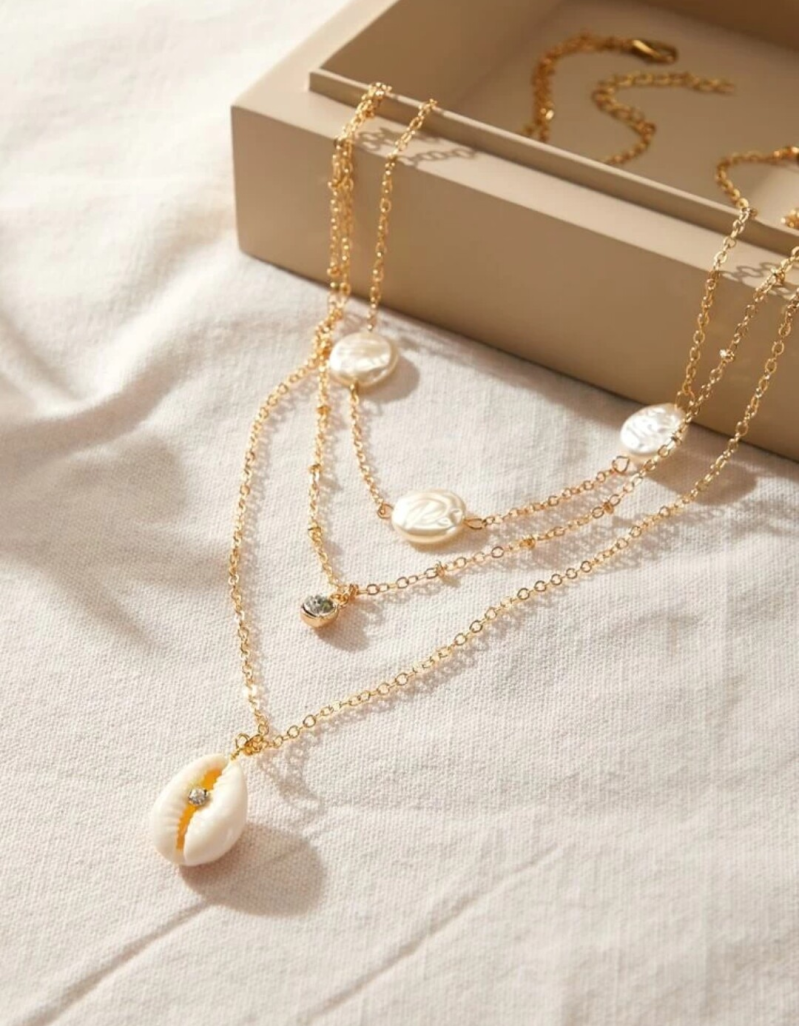 Shell chain set