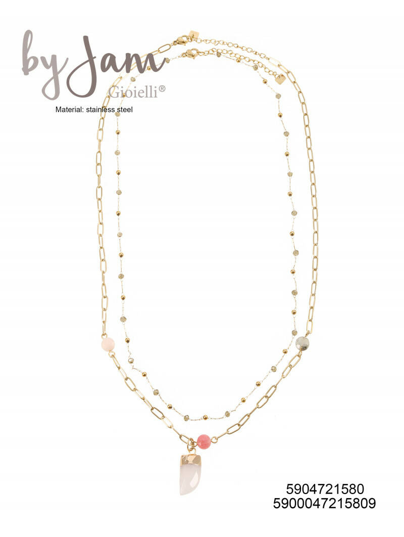 By Jam Gioielli | Ketting - Pinky tooth