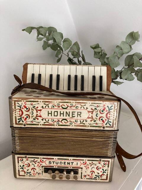 Decoratieve Accordeon Hohner Student