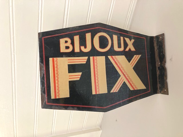 Emaille bord Bijoux Fix