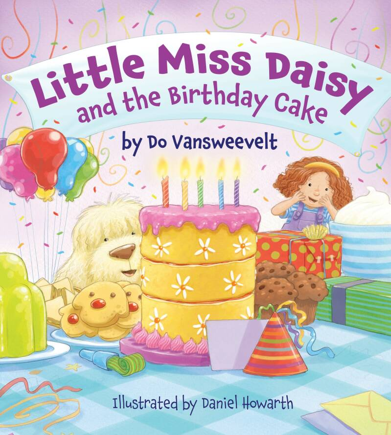Little Miss Daisy and the Birthday cake