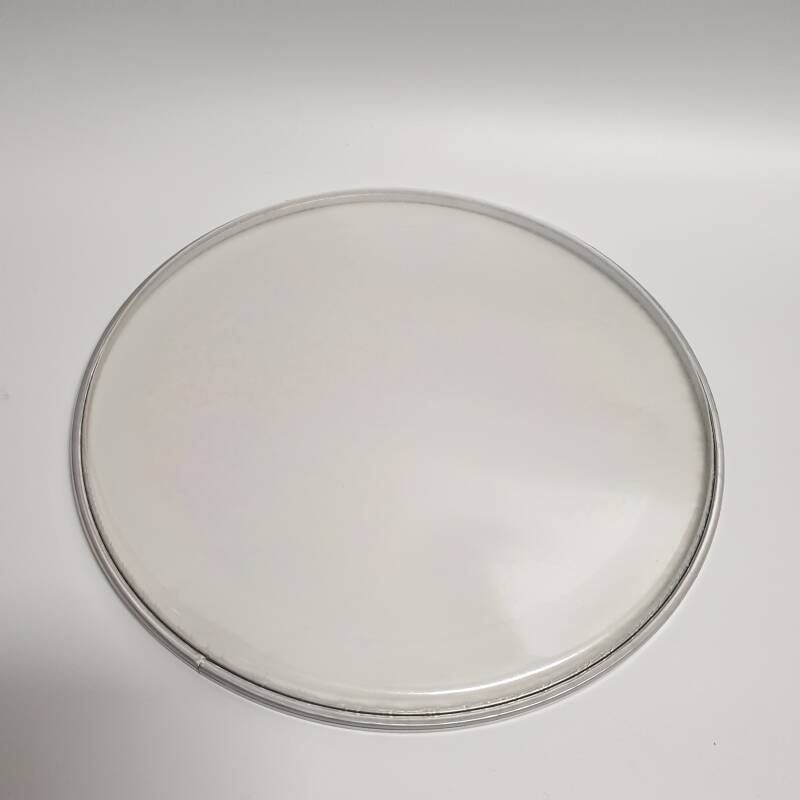 """10"""" dubbellaags clear/2 ply clear"""