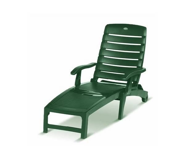 Hartman Palmyra/Florion Lounger Ligbed Classic Green kunststof