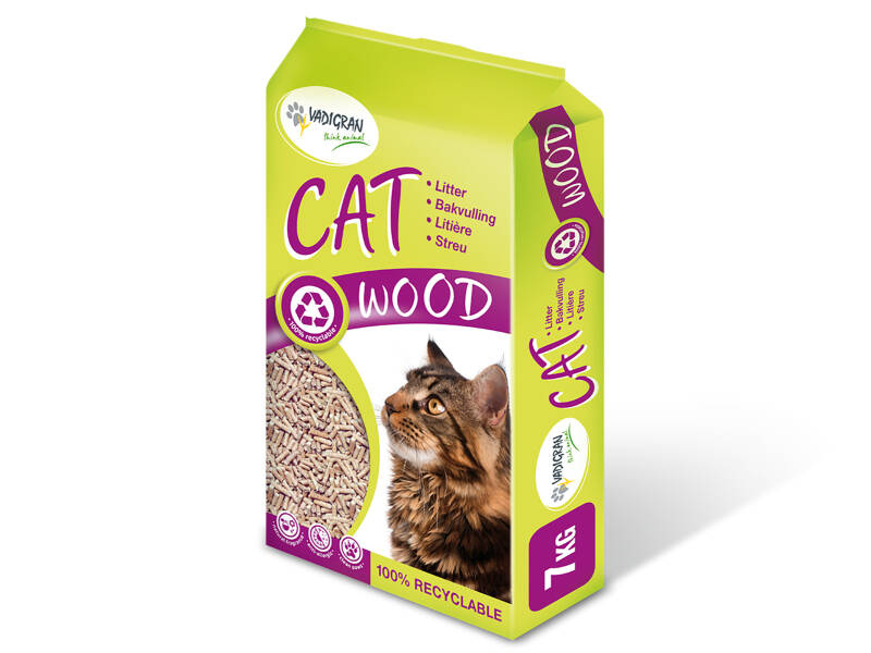 Cat Litter Wood 7kg-15L