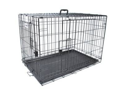 M-Pets Voyager Wire Crate 2 doors L