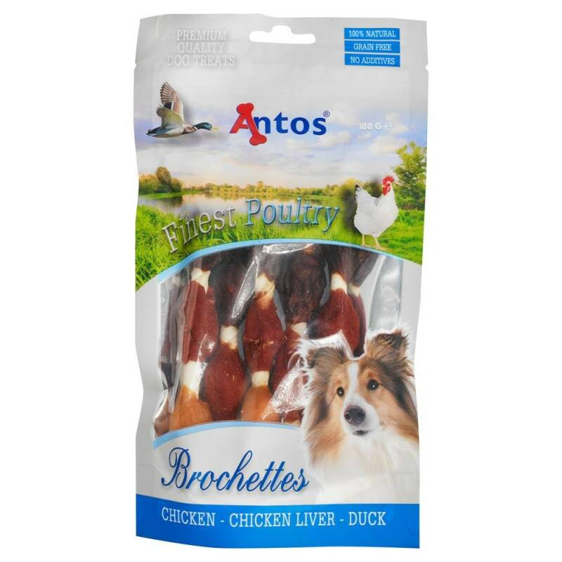 Antos Finest Poultry Brochettes 100g