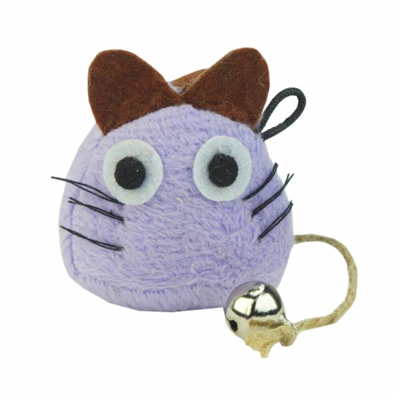 Crazy Cat Funny Mouse Paars