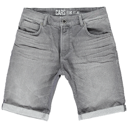 CARS JEANS ORLANDO SHORT DENIM GREY USED 47894 Nr. 688
