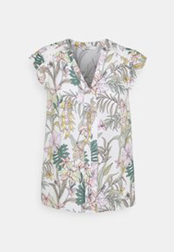 ONLY MARS CAPSLEEVE TOP 15226564 JUNGLE FLOWERS Nr. 878