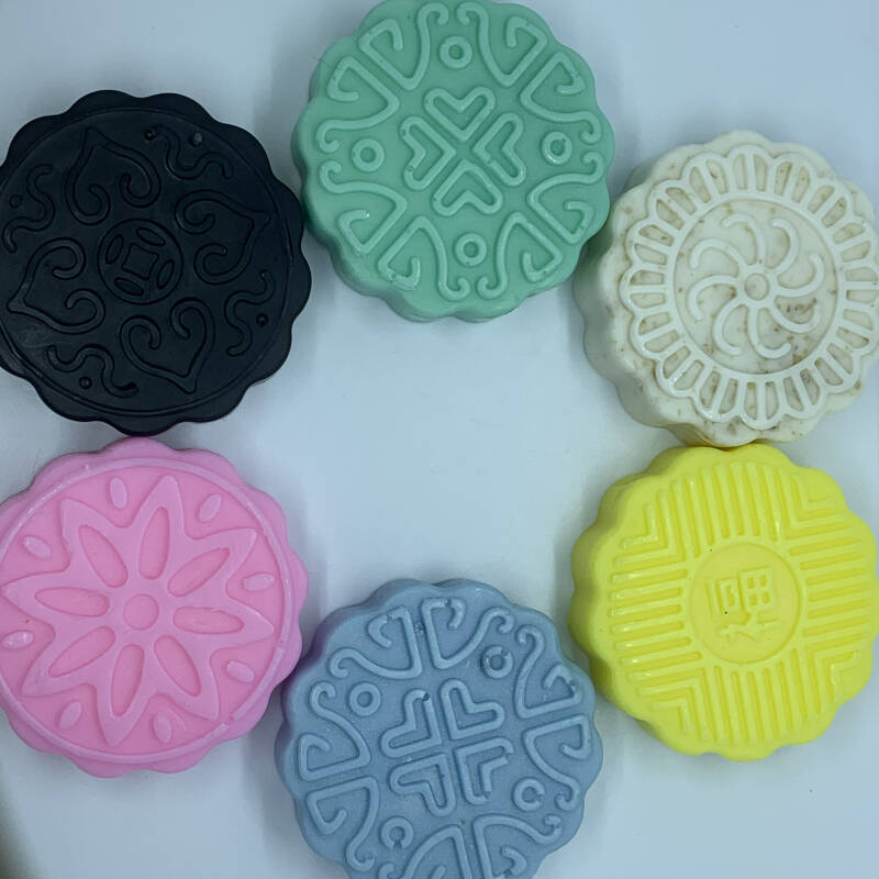 Floral and Goats Milk Mooncakes