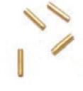 GM1054 - Four (4) Gold Markers, 1mm x 5mm, 10 sets per box