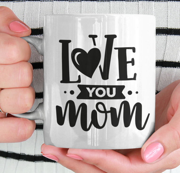 Moederdag Mok (i love you mom...)