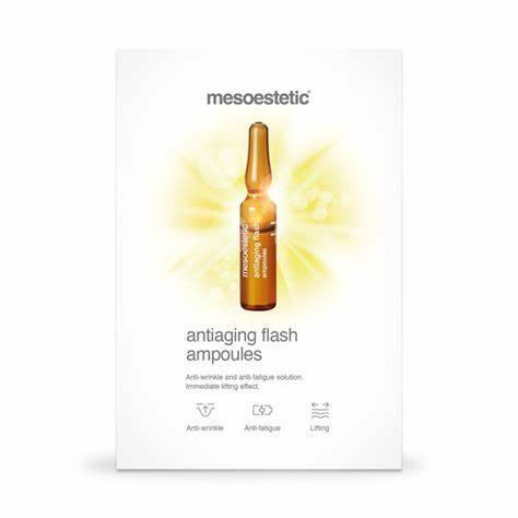 Anti aging flash ampoules