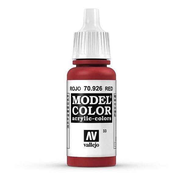 Model Color 70.926 Rot - Red