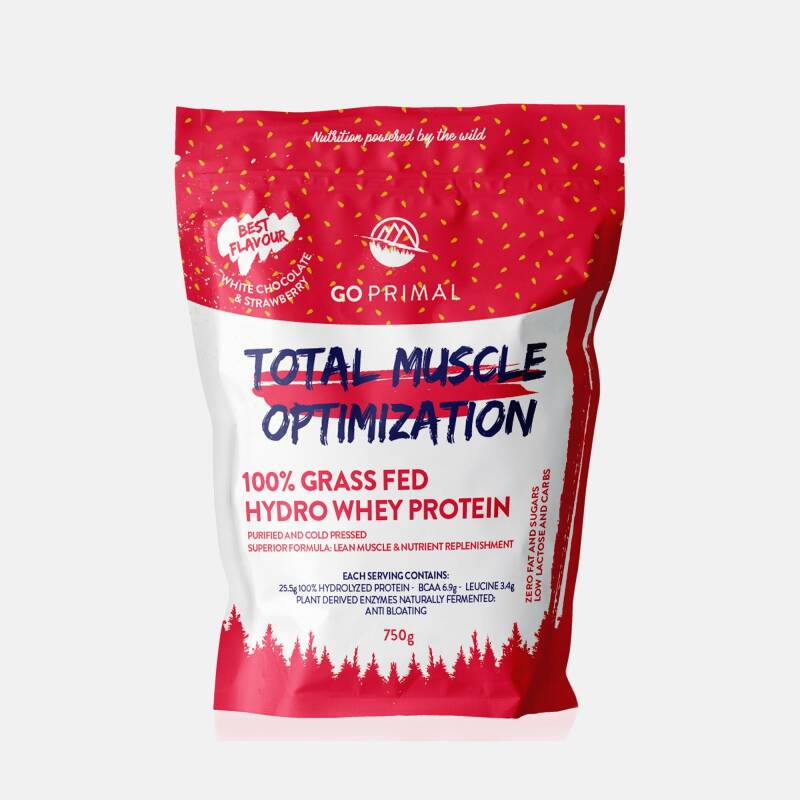 Primal Total Muscle Optimization Strawberry & White Chocolate