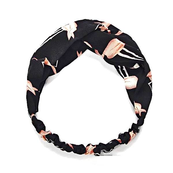 Haarband Flamingo black