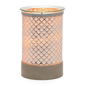 Cream Diamond Warmer