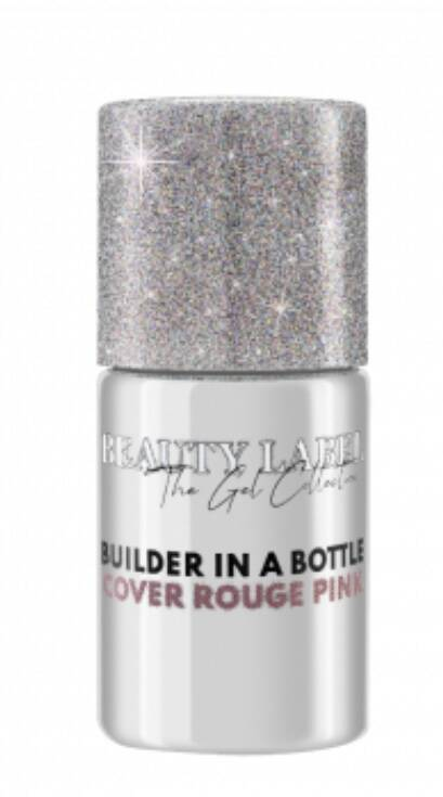 Beauty Label Builder in a bottle Cover Rouge Pink