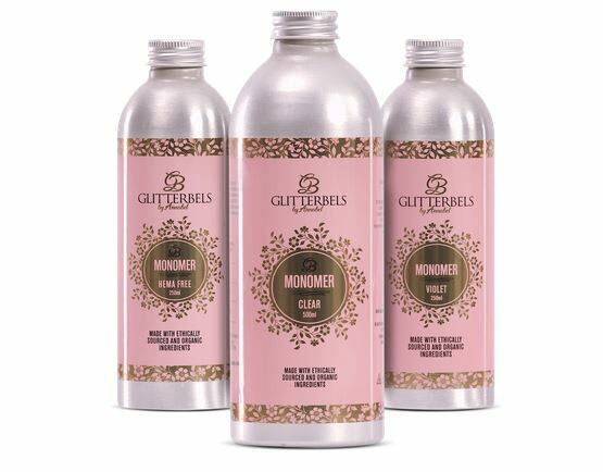 Glitterbels Ouderless Monomer 500ML