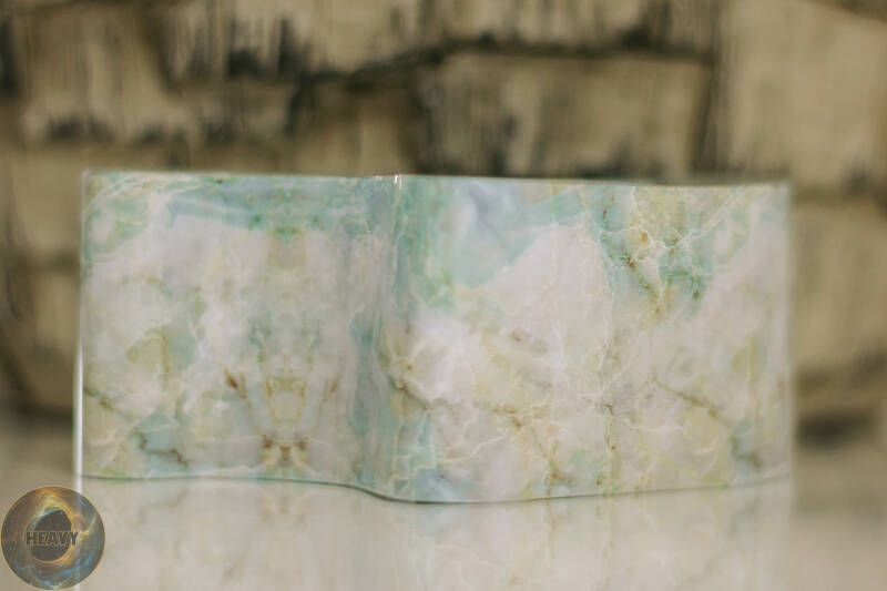 Folie marble blue/green