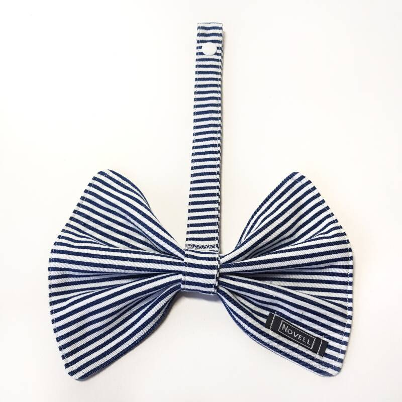 Speenkoord Striped Bow