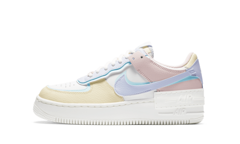 Nike Air Force 1 Shadow Pastel 750kicks Nike air force 1 shadow se ghost world indigo. nike air force 1 shadow pastel
