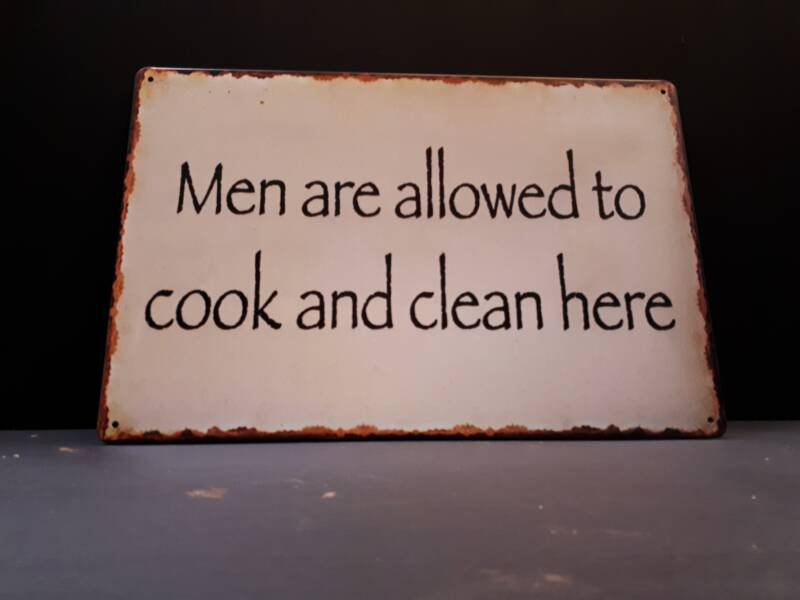 Cook and clean